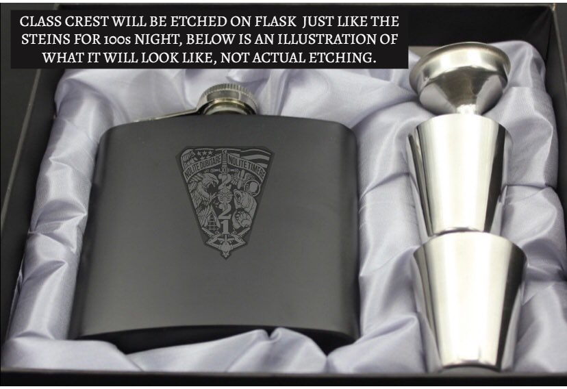 Flask with Crest